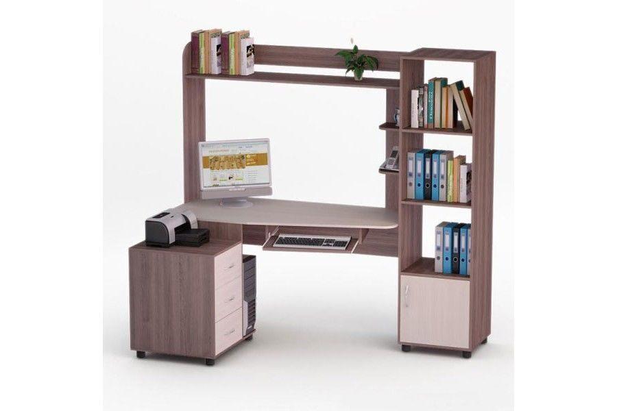 Угловой компьютерный стол роберт-6.