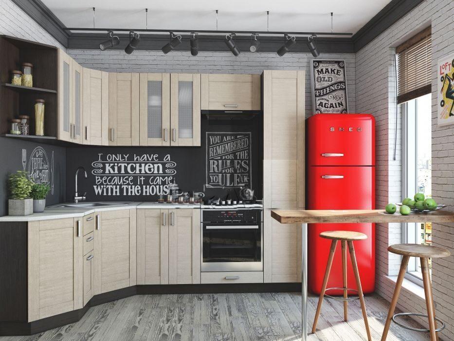 Белая кухня лофт фото